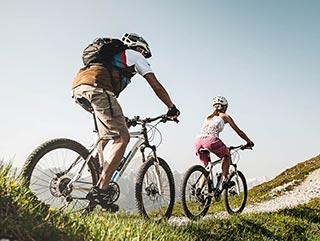 Sommerurlaub Stubaital | Biken | Hotel Wiesenhof Mieders, Tirol