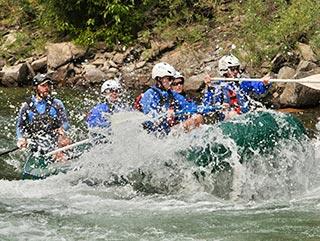 Sommerurlaub Stubaital | Rafting | Hotel Wiesenhof Mieders, Tirol