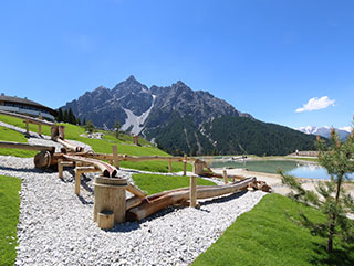 Sommerurlaub Stubaital | Kids Park | Serlesbahnen Mieders| Hotel Wiesenhof Mieders, Tirol